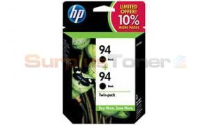 HP NO 94 INK CARTRIDGE BLACK TWIN-PACK (SD432AN)