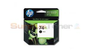 HP 74XL INK CARTRIDGE BLACK (CB336WL)