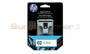 HP NO 02 INK CARTRIDGE LIGHT CYAN (C8774WC)
