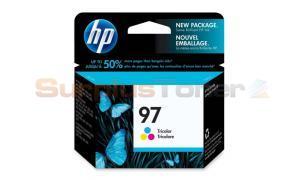 HP NO 97 INKJET CART TRI-COLOR HY (C9363WC)