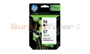HP NO 56 57 INKJET CART CMYK COMBO PACK (C9321BC#140)