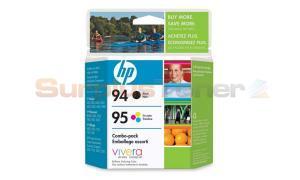 HP NO 94 95 INKJET CARTRIDGE CMYK COMBO PACK (C9354FC#140)