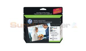 HP NO 57/58 INK COLOR PHOTO VALUE PACK 100 SHEET (CR685AN)