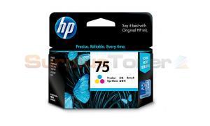 HP NO 75 INKJET CARTRIDGE TRI-COLOR (CB337WA)