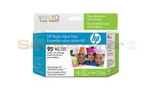 HP NO 95 INK TRI-COLOR/PREMIUM PAPER 200SH (Q7938AC)