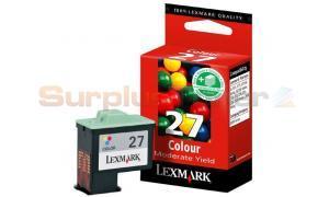 LEXMARK NO. 27 INK CARTRIDGE COLOR (10NX227E)