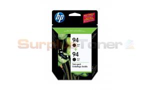 HP NO 94 INKJET CARTRIDGE BLACK TWIN PACK (C9350BC#140)