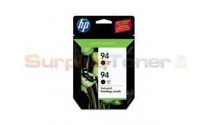 HP NO 94 INKJET CARTRIDGE BLACK TWIN PACK (C9350FC#140)