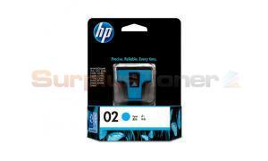 HP NO 02 INK CARTRIDGE CYAN (C8771WA)