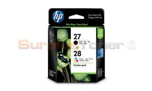 HP NO 27 28 PRINT CART CMYK COMBO PACK (CC628AA)
