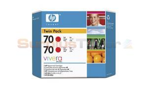 HP DESIGNJET Z3100 NO 70 INK RED (CB347A)