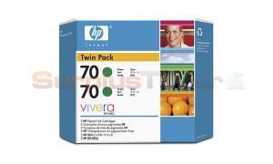 HP DESIGNJET Z3100 NO 70 INK GREEN (CB348A)