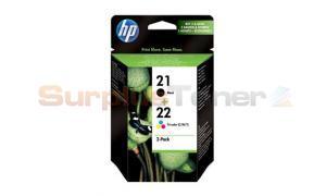 HP NO 21 22 INKJET CTG CMYK COMBO PACK (SA420EE)