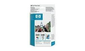 HP NO 343 348 INK PRO PHOTO PACK (Q7875EE)