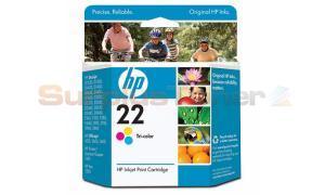 HP NO 22 INK CARTRIDGE TRI-COLOR (C9352AE)