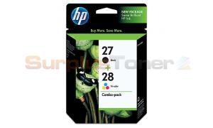 HP NO 27 28 INKJET CART BLACK/COLOR (C9323FN)