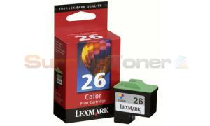 LEXMARK Z23 NO. 26 INKJET COLOR (10N0026)