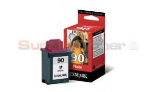 LEXMARK NO. 90 PRINT CART PHOTO (12A1990B)