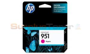HP OFFICEJET NO 951 INK CARTRIDGE MAGENTA (CN051AL)