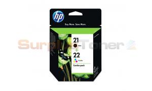 HP NO 21 22 INK CARTRIDGE CMYK COMBO PACK (SD458FN)