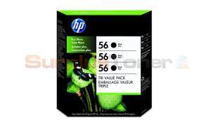 HP DESKJET 5550 INKJET CTG BLACK TRI-PACK (C8812BN)