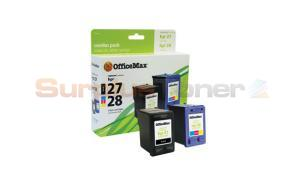 HP NO 27 28 INKJET CART BLACK/COLOR OFFICEMAX (OM96284)