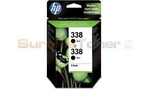 HP 338 INK CARTRIDGE BLACK 2-PACK (CB331EE#301)