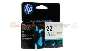 HP 22 INK CARTRIDGE TRI-COLOR (C9352AE#UUS)