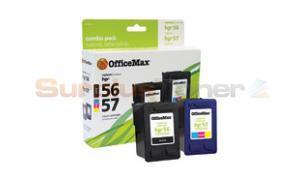 HP 56/57 INKJET CART CMYK COMBO PACK OFFICEMAX (OM96286)