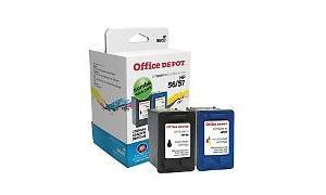 HP 56/57 INK CARTRIDGE CMYK COMBO PACK OFFICE DEPOT (OD5657)
