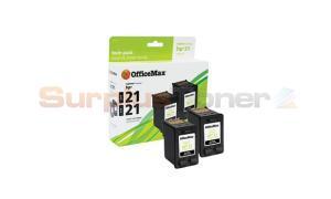 HP 21 INKJET CARTRIDGES BLACK TWIN-PACK OFFICEMAX (OM00927)