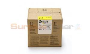 HP LX610 INK CARTRIDGE YELLOW (CN672A)