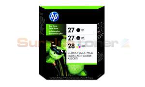 HP 27/27/28 INK CTG CMYK COMBO PACK (C9343BN)
