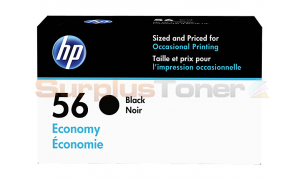 HP 56 INK CARTRIDGE ECONOMY BLACK (D8J31AN)
