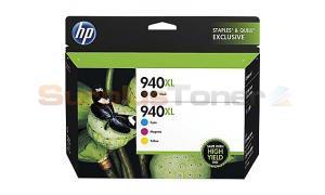 HP 940XL INK CART CMYK COMBO PACK (F6V11FN)
