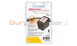 HP 56 INK BLACK VALUE-PACK OFFICE DEPOT (1477200)