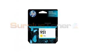 HP OFFICEJET NO 951 INK CARTRIDGE YELLOW (CN052AE)