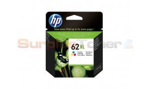 HP NO 62XL INK CARTRIDGE TRI-COLOR (C2P07AE#UUS)