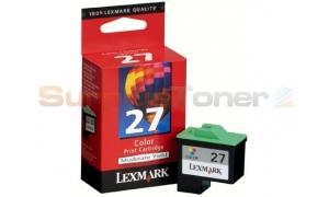 LEXMARK NO. 27 INK CARTRIDGE COLOR (10N1127)
