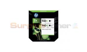 HP 940XL INK CART BLACK TWIN VALUE PACK (CN697AE)