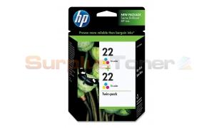 HP NO 22 INKJET CART TRI-COLOR (CC580FN)