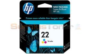 HP NO 22 INK CARTRIDGE TRI-COLOR (C9352AE#ABE)