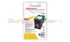 HP 343 INK CARTRIDGE TRI-COLOR OFFICE DEPOT (1471624)