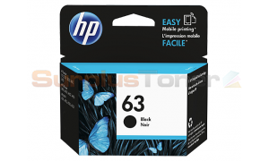 HP NO 63 INK CARTRIDGE BLACK (F6U62AN)