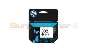 HP 302 INK CARTRIDGE BLACK (F6U66AE)