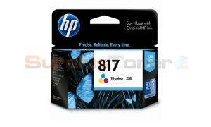 HP NO 817 INK CARTRIDGE TRI-COLOR (C8817AA)