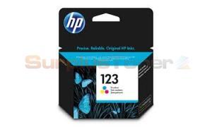 HP 123 INK CARTRIDGE TRI-COLOR (F6V16AE)
