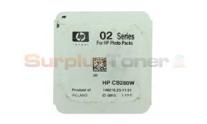 HP NO 02 INK CARTRIDGE CYAN (NO BOX) (CB280W)