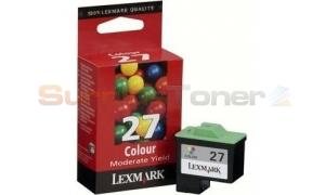 LEXMARK NO. 27 INK CARTRIDGE COLOR (10NX227BR)