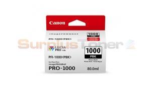 CANON PFI-1000 PBK INK TANK PHOTO BLACK (0546C002[AA])